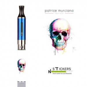 stickers Pop skull Murciano