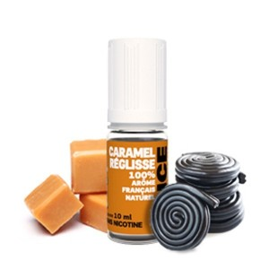 E-liquide D'lice Caramel/Reglisse