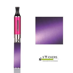 stickers bicolor violet
