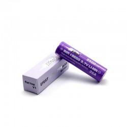 Accu purple 18650-2500mAh