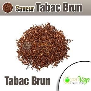 E-liquide tabac brun OpenVap