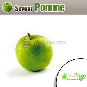 E-liquide saveur pomme OpenVap