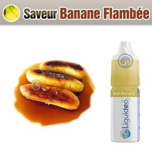 Saveur Liquidéo Banane Flambée