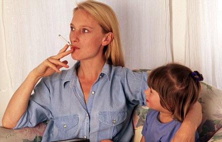 Des mères jai cessé de fumer sur le coup de téléphone